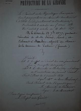Radié Mac Mahon signe sa réhabilitation.