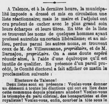 Talence Elections Ville Suzane