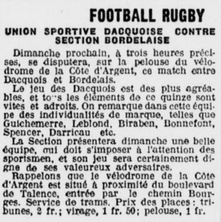 Du Rugby au Vélodrome