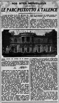 Histoire de  Peixotto