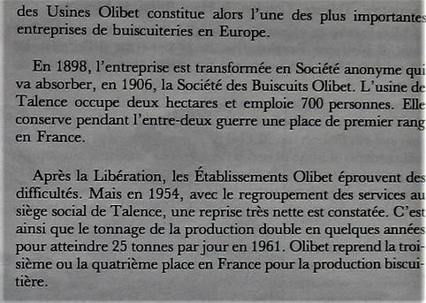 Biscuits Olibet 02 Historique