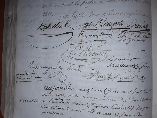 Signatures Mailléres et Conseillers