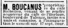 L'Adjoint au  Maire de Talence M. Boucanus propriétaire