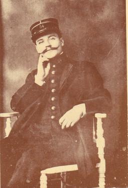 Le Lieutenant Geandreau du 34ème