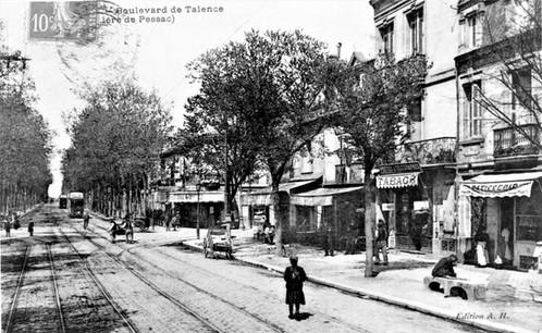 Boulevard et barrière de Pessac