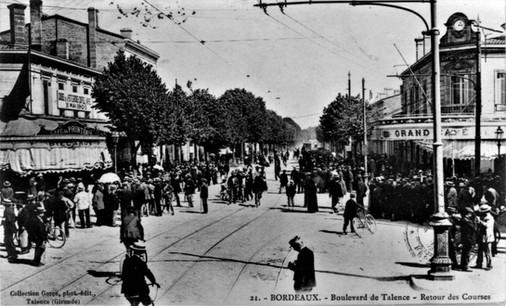 Le Boulevard de Talence