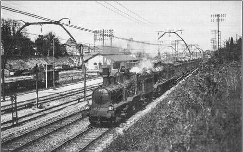 1950 Gare de la Médoquine