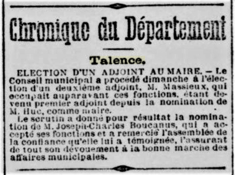 Elu adjoint au Maire