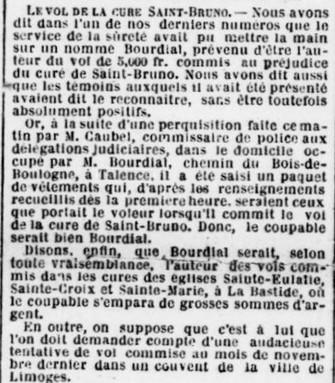 Voleur du bois de Boulogne