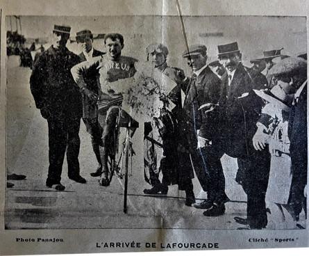 Fourcade vainqueur au vélodrome