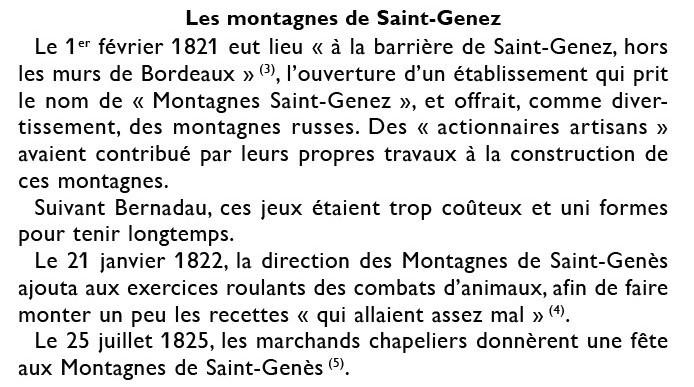 Montagnes St Genès