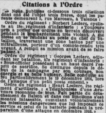 Citations dezs frères Leclerc