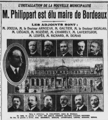 A nouveau adjoint au Maire de Bordeaux