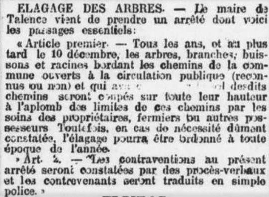 1910_11_05_FBSO_Urbanisme_Elagage _Talen