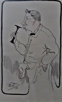 Professeur Xavier Arnozan Caricature