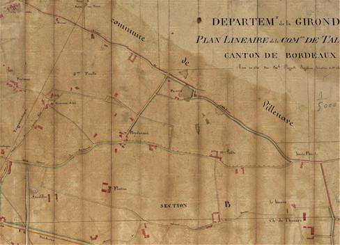 Plan Talence Sud Est Peylane Thouars