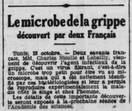 Le microbe découvert par deux Français
