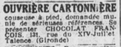 Cartonniéres François