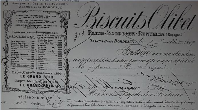 Numéro de  Téléphone Olibet en 1897