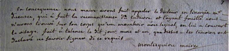 Accident de Raymond Clément