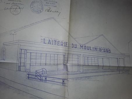 1949 Suzon Laiterie du moulin d'Ars 1929 à 1975