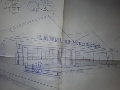 Suzon  Laiterie du moulin d'Ars 1929 à 1975