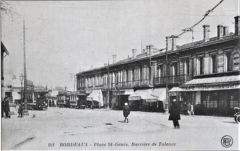 Place Saint Genès Barrière de Talence.