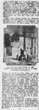 Historique de la Croix