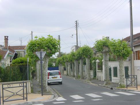 Cauderès rue des Sports ancienne entrée du vélodrome
