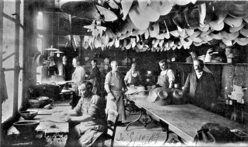 Usine Benoiston Fabrique de chapeaux
