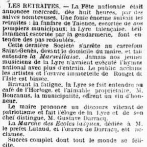 Concert pour Boucanus