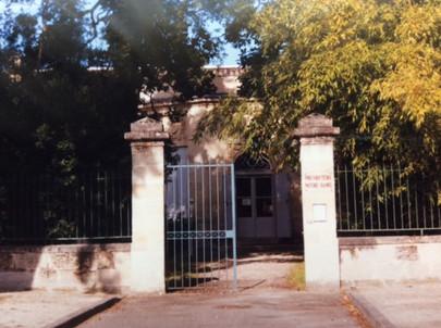 Presbytère en juin 1999