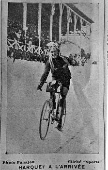 Harquet classé au vélodrome