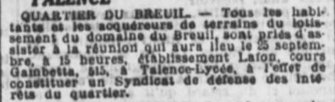 Quartier du Breuil