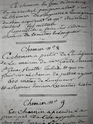 Description Chemin N°8