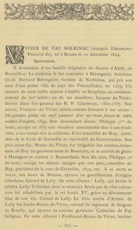 Vivier de Fay de Solignac