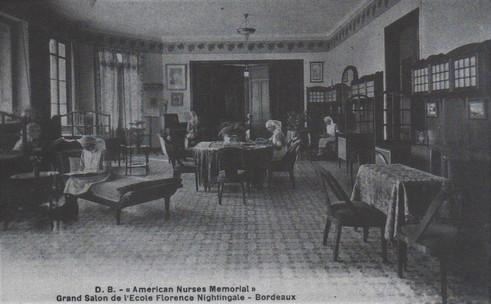 Le dispensaire fut inauguré en janvier 1922