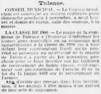 Classe 1900