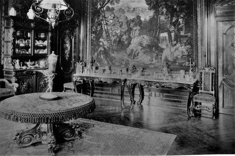 Château Margaut l'intérieur