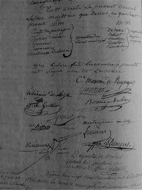 Les signataires