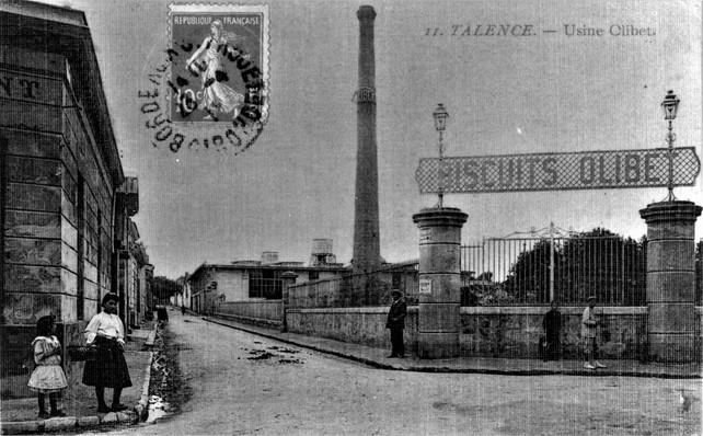 Biscuits Olibet l'usine