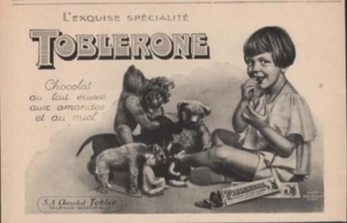 Publicité Toblerone