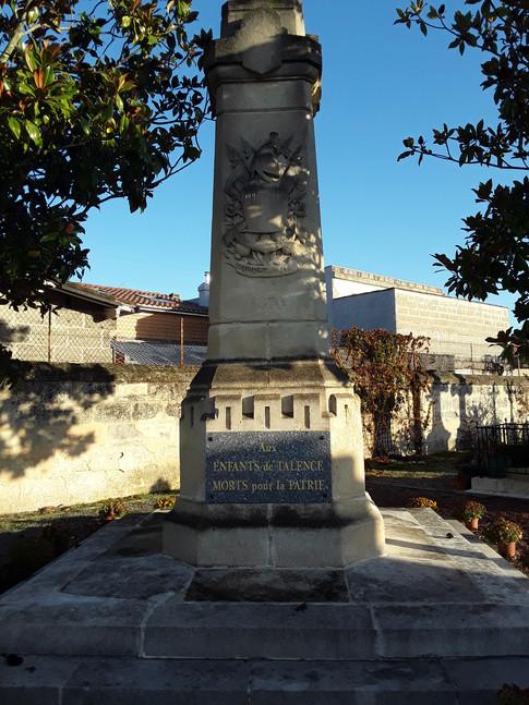 Monument Aux Morts guerre 1870-1871