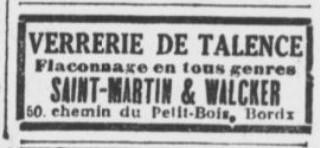 Verrerie Saint Martin et Walcker