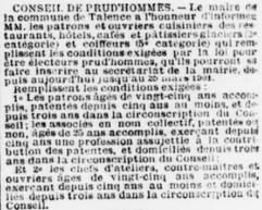 Election aux Prud'hommes