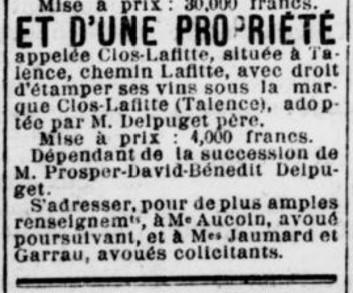 AV Propriété Clos Lafitte