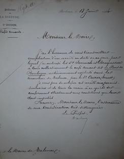 Autorisation pour le restaurant du Bois deBoulogne