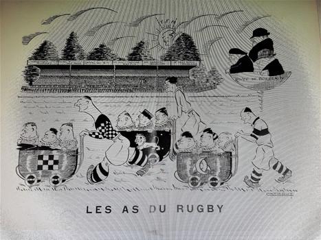 Talence la  Capitale du Rugby et du Jeu à XIII.