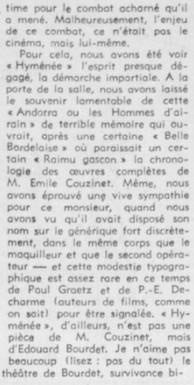 François Chalais Le théatre est nul.