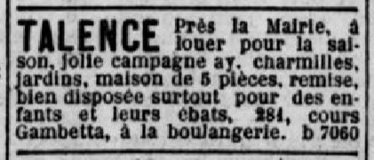 A Louer jolie Campagne